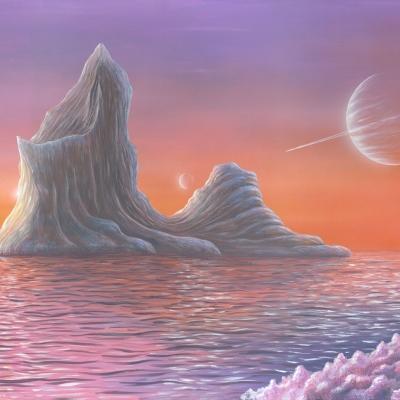 0403 Iceberg at Dawn