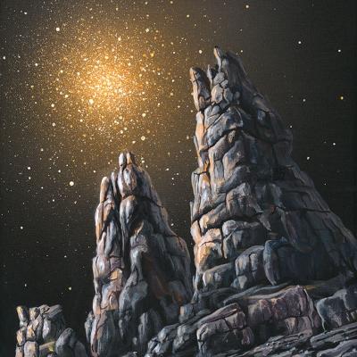 0757 Rocky spires