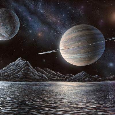 0811 Extrasolar planet Nighttime