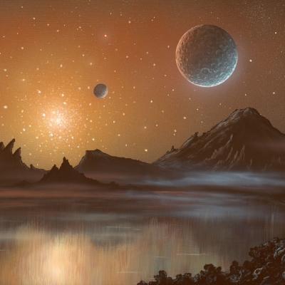 1019 Globular Cluster & Still Waters