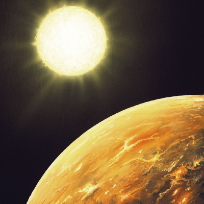 1104 Kepler 10b Seen from space