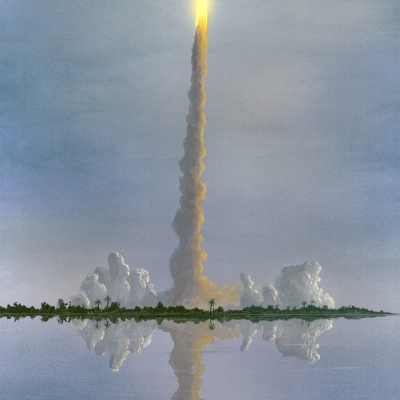 0536 Shuttle Launch