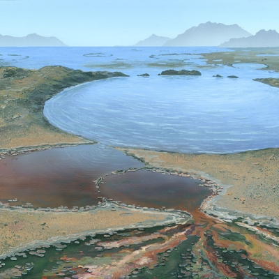 1610 Life's Origins: Microbial Mats on Crater Lakes